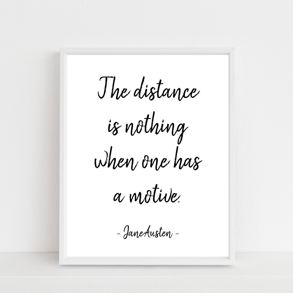 the distance is nothing {freebie}…